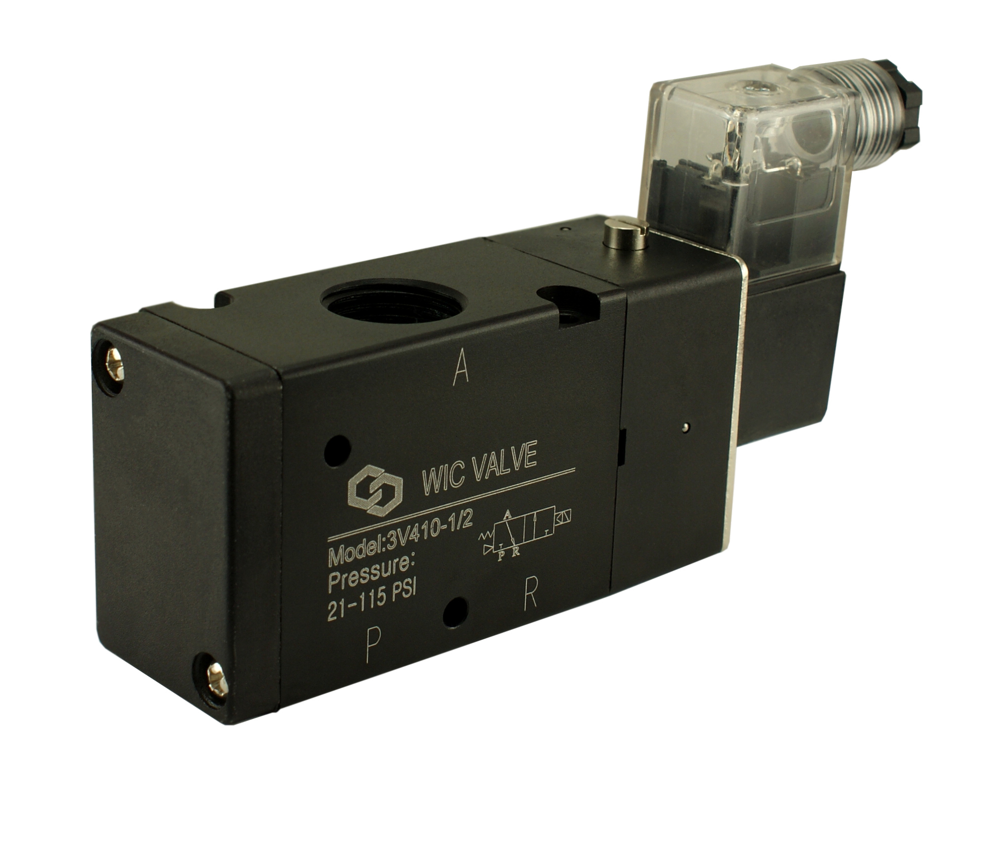 solenoid valves air valves steam valves water solenoid valves wic valve 3v410 3 way 2 position 1 2 inch pneumatic directional control air