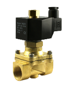 2BOW Series Three Quarter Inch Normally Open Brass Zero Pressure operate Solenoid Valve