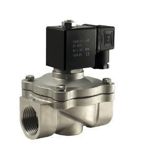 1 Inch Stainless Steel Zero Differential Air Water Gas Electric Solenoid Valve
