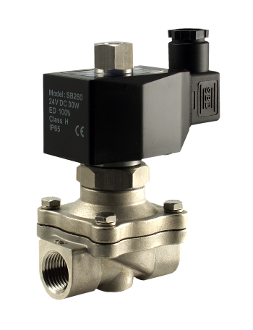 Normally Open Stainless Steel Zero Differential Diaphragm Solenoid Valve