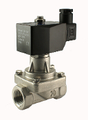 Electric Zero Differential Solenoid Stainless Steel Steam Valve