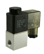 Fast Response Zero Differential Electric Solenoid Air Valve DIN
