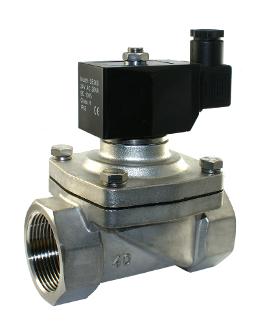 "1.5"" Inch Electric Air Water Zero Differential Solenoid Valve"