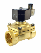 Normally Closed Brass Electric Solenoid Water Valve