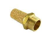 WIC Valve Brass Silencer Connector Noise Reduce Air Valve Muffler Fitting