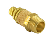 Brass Exhaust Flow Control Silencer Noise Reduce Air Valve Muffler