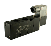 "3/8"" Inch 4 way 2 Position Pneumatic Directional Control Solenoid Valve"
