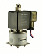 WIC Valve 2PCV Series BSPT Normally Closed Anti Corrosion Acid Resistant Teflon Solenoid Valve