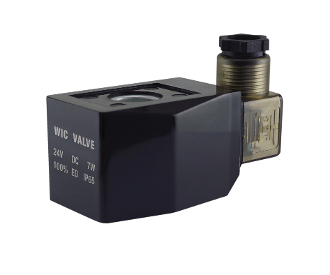WIC Valve 2P Series 24 Volt DC Low Power Consumption Power Save Class H IP 65 Continuous Duty CE Certification Solenoid Coil