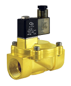 Low Power Consumption Brass Electric Solenoid Valve