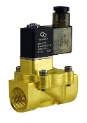 Low Power Consumption Normally Closed Brass Solenoid Valve