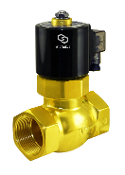 WIC Valve 2BCL Series 1.5 Inch High Pressure Brass Solenoid Steam Process Valve