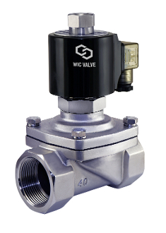Stainless Steel Viton Diaphragm Hot Water Solenoid Valve