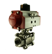 Air Operated Pneumatic Ball Valve