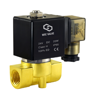Fast Response Brass Electric Zero Differential Solenoid Water Valve