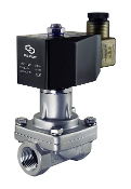Stainless Steel Steam Hot Water Solenoid WIC Valve