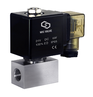 Stainless Steel High Pressure Zero Differential Electric Solenoid Valve