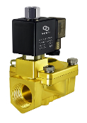 Brass Normally Open General Purpose High Pressure Process Solenoid Valve