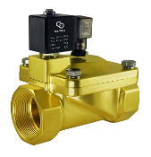 Brass 2 Inch General Purpose High Pressure Process Solenoid Valve