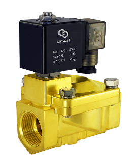 Brass General Purpose High Pressure Process Solenoid Valve