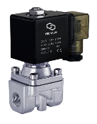 Zero Differential High Pressure High Flow Solenoid Air Water Process Valve