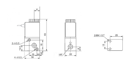 1 8 inch pneumatic 3 way electric air solenoid valve 12v dc zero 3ak series normally closed solenoid valve installation diagram